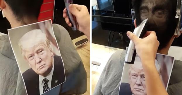 Esta barbería en Taiwan lleva sus cortes de pelo a otro nivel haciendo retratos de famosos