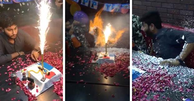 Estaba celebrando su 21 cumpleaños con sus amigos y casi todo acaba en tragedia