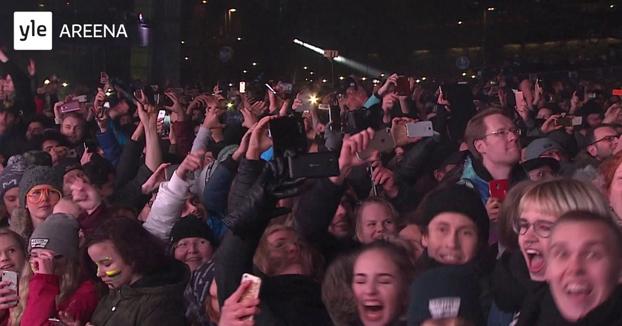Así es como celebran el año nuevo en Helsinki, Finlandia