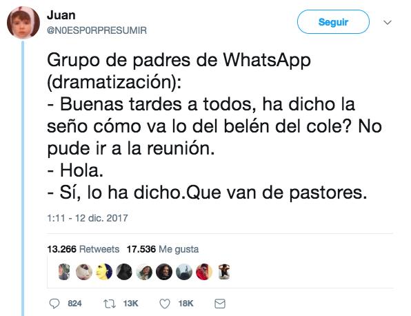 Grupo de padres de WhatsApp