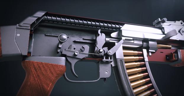 Crea en 3D el funcionamiento de un AK-47 muy bien explicado