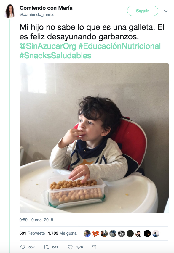 Una nutricionista desata todo tipo de comentarios por el desayuno que le da a su hijo