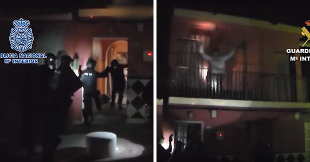 El ultra que agredió a un hombre en una terraza de Bilbao detenido en una operación antidroga. Vídeo del momento