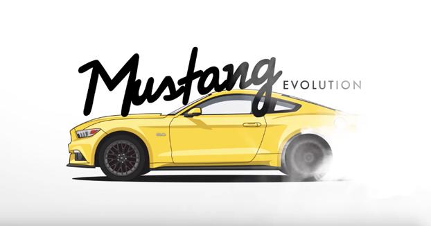 La evolución de los Ford Mustang a lo largo de la historia