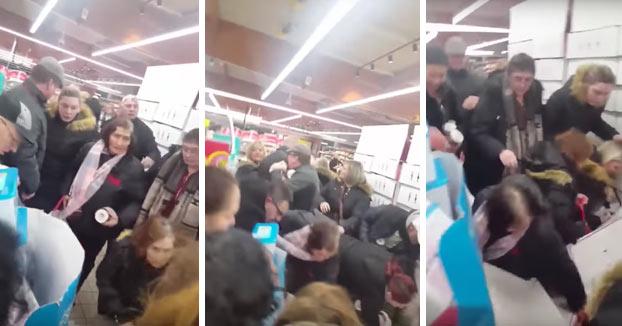 Unas rebajas del 70% en la Nutella provocan disturbios en una cadena de supermercados en Francia