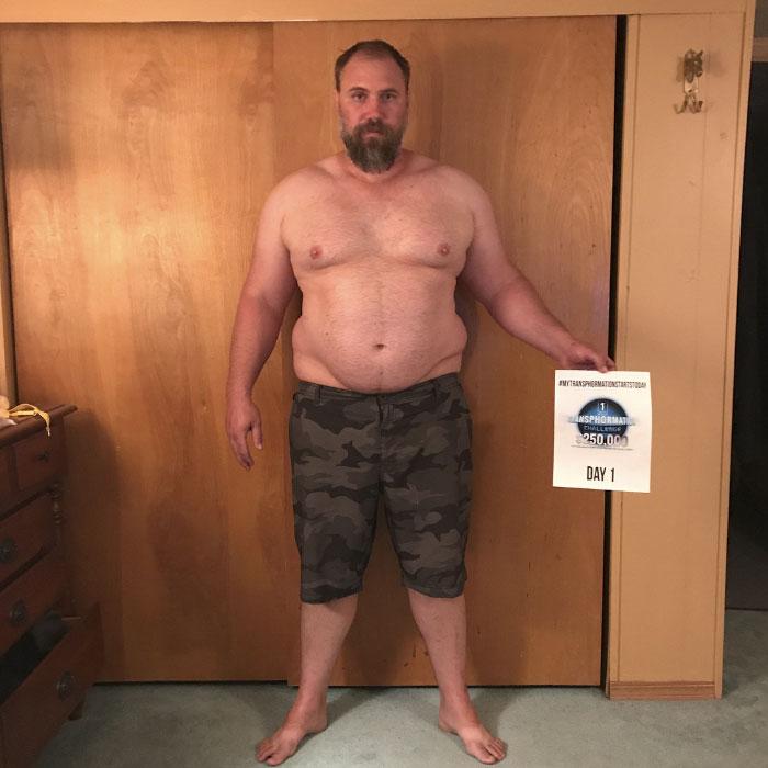 Un padre no da seguido el ritmo de sus hijos y transforma totalmente su cuerpo en solo 6 meses