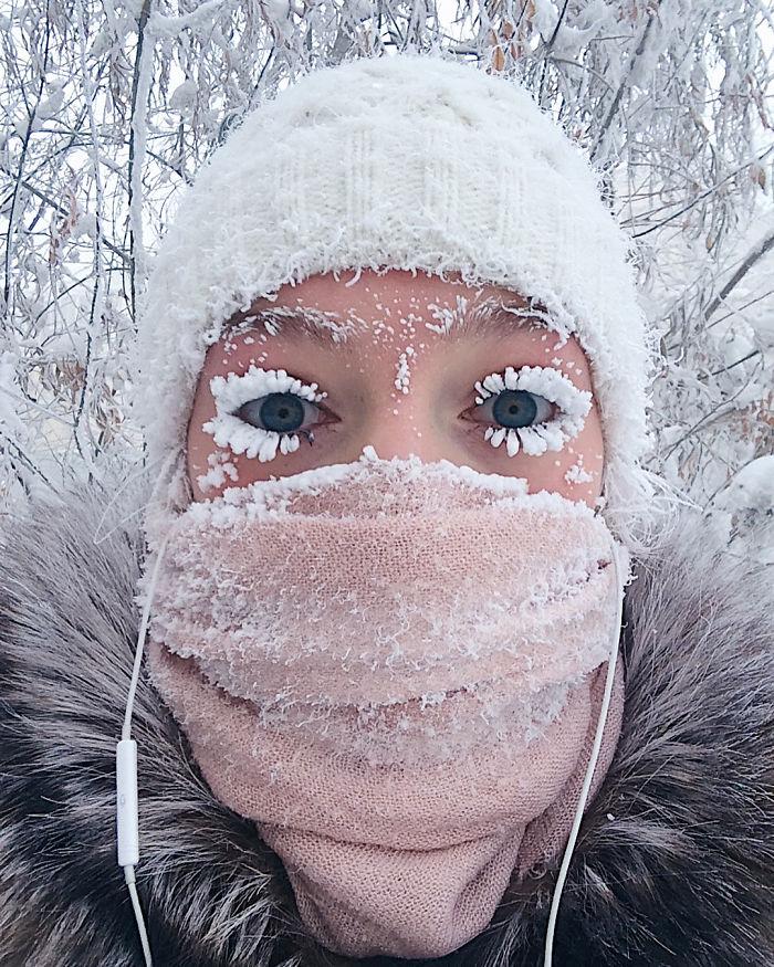 El pueblo más frío del mundo ha alcanzado los -62ºC