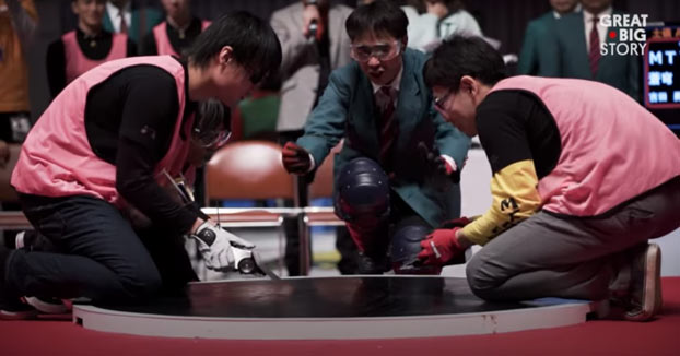El sumo con robots se ha convertido en un deporte super competitivo en Japón