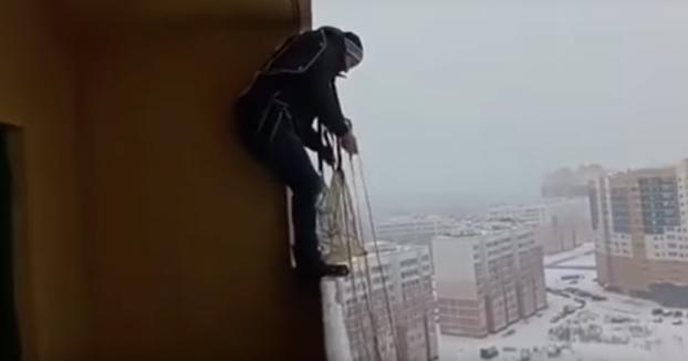 Ruso buscando emociones fuertes