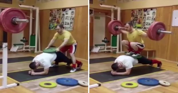 Así es como entrenan los rusos en el gimnasio