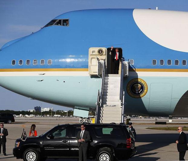 Las dos neveras del Air Force One cuestan 24 millones de dólares