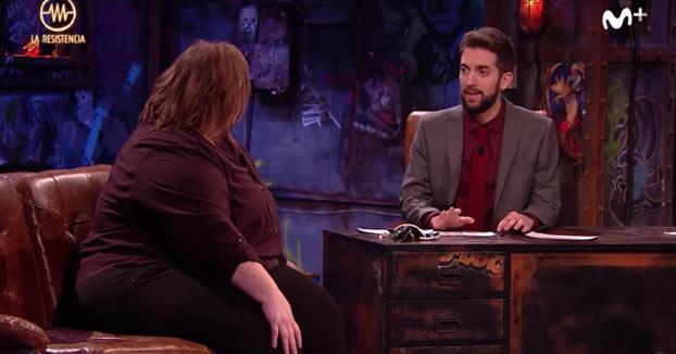 David Broncano hace un chiste de gordas delante de Itziar Castro. ¿Cómo reaccionará ella?