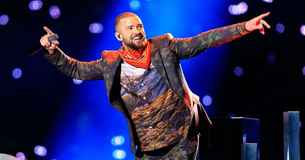 La performance de Justin Timberlake en la Super Bowl 2018