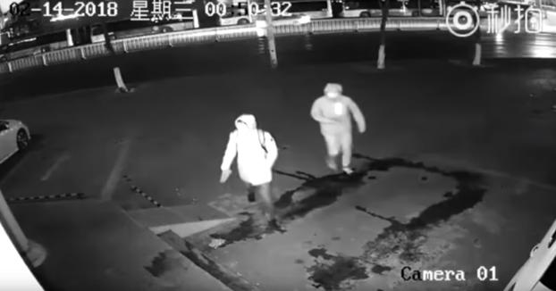 La policía de Shanghai publica unas imágenes del ladrón más torpe de todos los tiempos