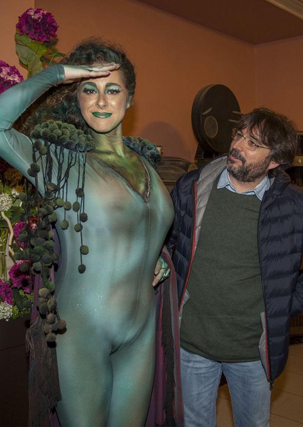 El disfraz de María Romay, la concejal de Transparencia del Ayuntamiento de Cádiz