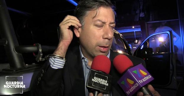 Paco tuvo un accidente e iba tan borracho que se quedaba dormido ante los reporteros