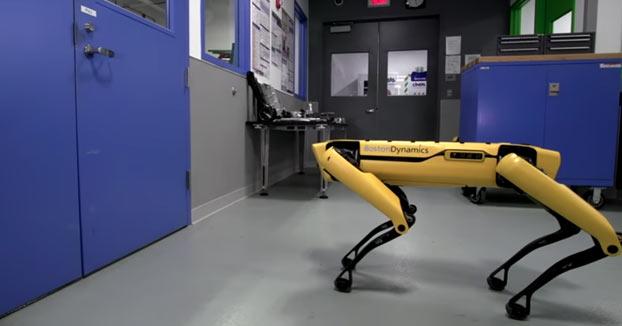 El perro robot de Boston Dynamics ahora es capaz de abrir puertas y escapar