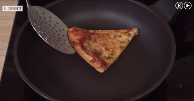 Trucos para calentar pizza, pasta y arroz sin arruinarlos
