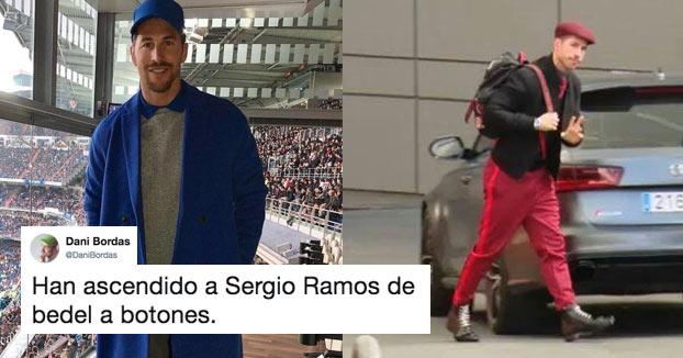 Las redes se cachondean con el nuevo look de Sergio Ramos