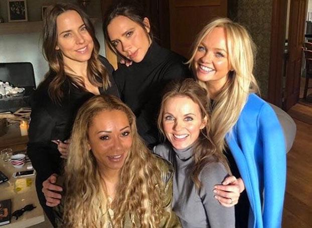 Me han sorprendido tres cosas de la foto de reunión de las Spice Girls