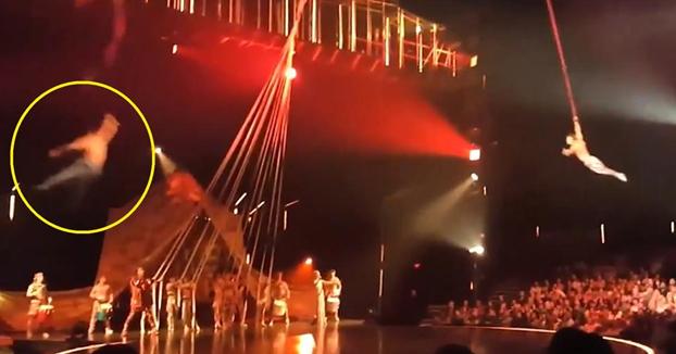 Un acróbata del Cirque du Soleil muere en una caída durante una actuación