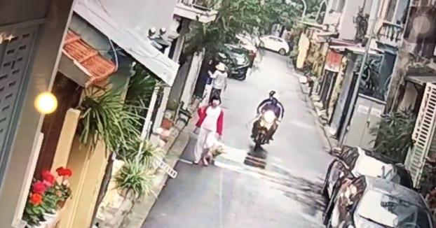 Dos hombres en una moto le roban el perro a una mujer cuando lo iba paseando