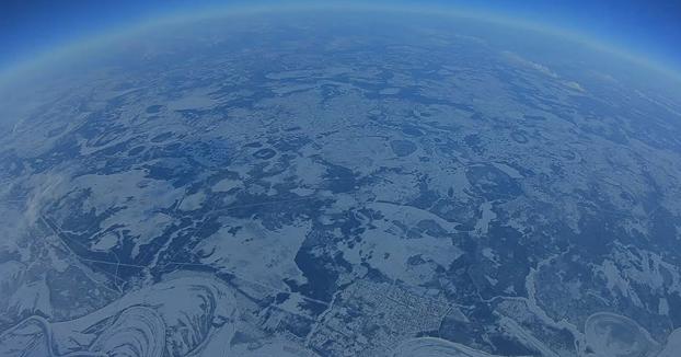 Un drone a 10 kilómetros de altura