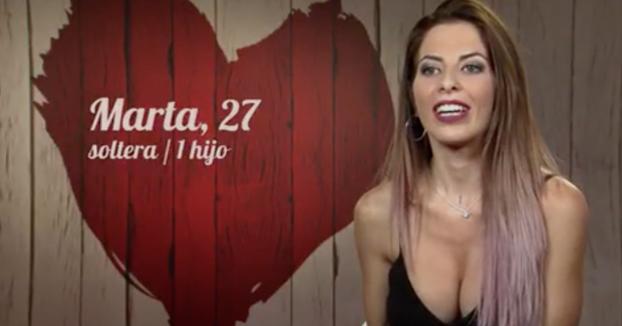 Marta, 27 años, va a 'First Dates' para encontrar un hombre tontito
