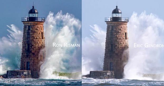 Cómo dos fotógrafos hicieron una fotografía en el mismo milisegundo sin saberlo