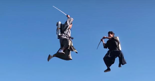 Duelo de samuráis en jetpack