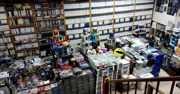 La colección de 15.000 juegos de Randy