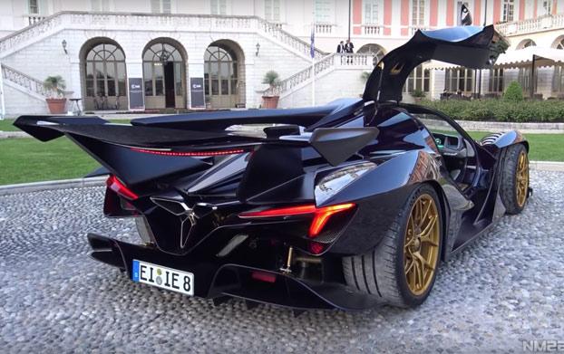 Apollo Intensa Emozione, un hiperdeportivo de 2,3M€ que parece de Batman