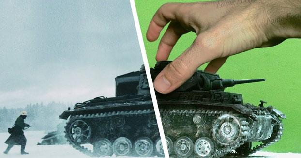 Increíbles efectos prácticos, no digitales, Scandinava VFX Production
