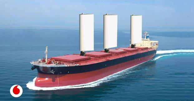 Los barcos del futuro volverán a ser veleros