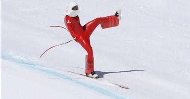 Escalofriante caída de Juanki Sánchez a más de 200 km/h en una prueba de Speed Ski