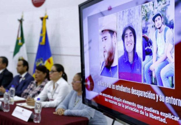 Tres estudiantes de cine son asesinados y diluidos en ácido por un cártel mexicano