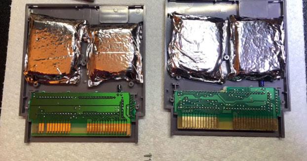 Encuentra droga dentro de sus cartuchos de la NES