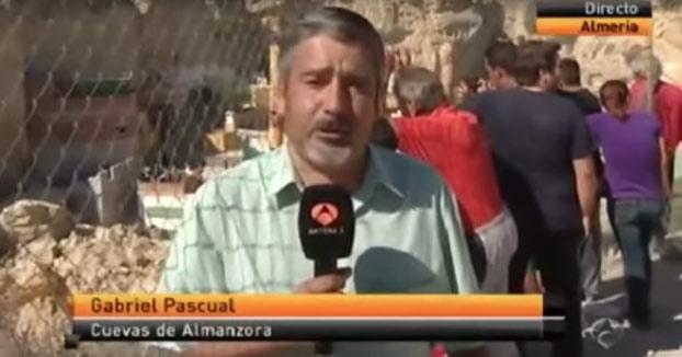 El vídeo del reportero de Antena 3 Gabriel Pascual del que todo el mundo habla estos días