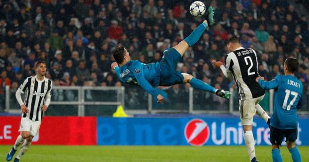 Espectacular gol de Cristiano Ronaldo de chilena ante la Juventus