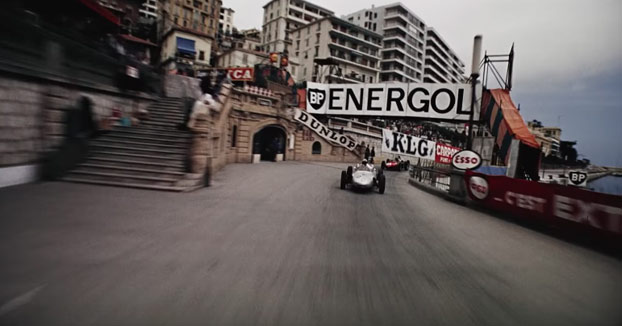 Grabación en HD del GP de Mónaco del año 1962