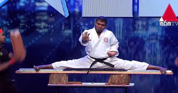 Karate Kid en el programa Got Talent de Sri Lanka