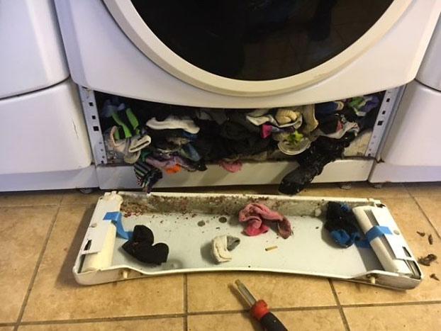 No estás loco, la lavadora sí que se come tus calcetines