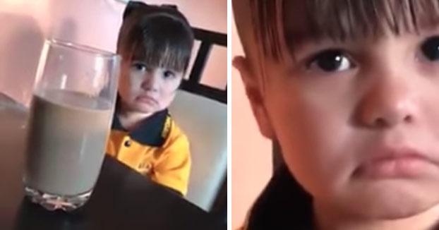 La niña le dice a su madre que no quiere ir al colegio porque está embarazada