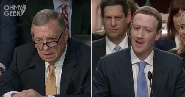La pregunta que dejó sin palabras a Mark Zuckerberg durante su interrogatorio [Vídeo]