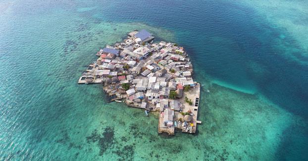 Santa Cruz del Islote, la isla más densamente poblada del mundo