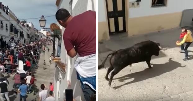 Un hombre muere en el encierro del Toro del Aleluya en Arcos de la Frontera