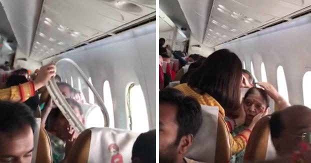 La ventanilla de un avión se rompe durante una fuerte turbulencia en un vuelo de Air India