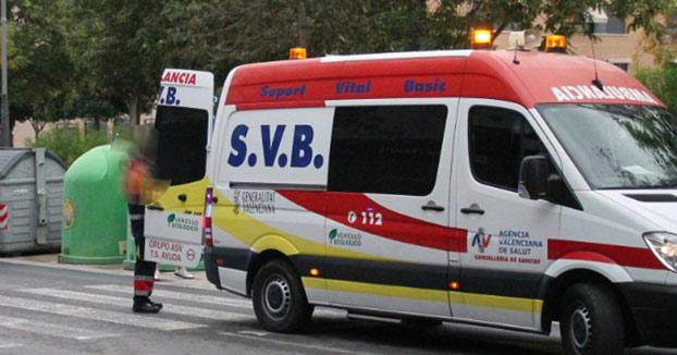 Una ambulancia 'pierde' a un herido británico y sus conductores dan positivo por drogas en Benidorm