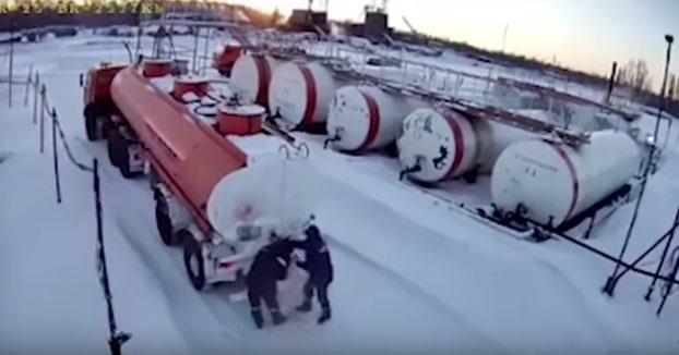 Intentan descongelar una válvula de gas utilizando un soplete y ocurre lo peor