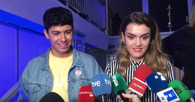 Primeras declaraciones de Amaia y Alfred tras Eurovisión: ''Es un poco mierda pero no pasa nada''